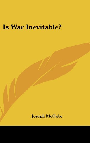 Is War Inevitable?