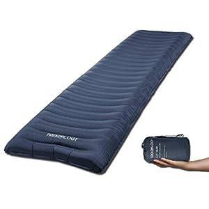TREKOLOGY Isomatte aufblasbar, Sleeping Pad, Camping Luftmatratze – UL80 aufblasbare Isomatte Camping Isomatte Isomatte…