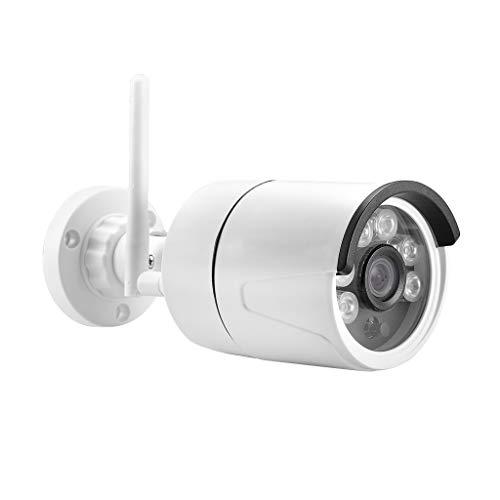WiFi Cámara IP Cámara De Vigilancia , piabigka Cámara De Vigilancia 720P WiFi con Visión Nocturna Detector Infrarrojo Inalámbrico De Movimiento Vigilabebes Baby Monitor