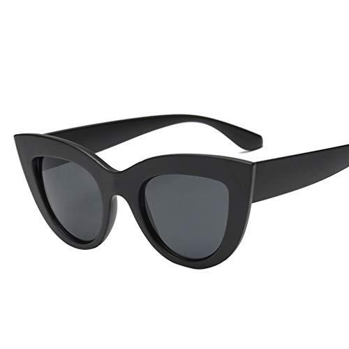 Junecat Frauen-Katze-Ohr UV-Beweis Sonnenbrille PC Rahmen UV400 Sport Outdoor Brillen Weibliche Driving Sonnenbrillen