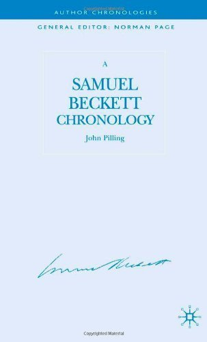 A Samuel Beckett Chronology (Author Chronologies Series) by Pilling, John (2006) Hardcover Pdf - ePub - Audiolivre Telecharger