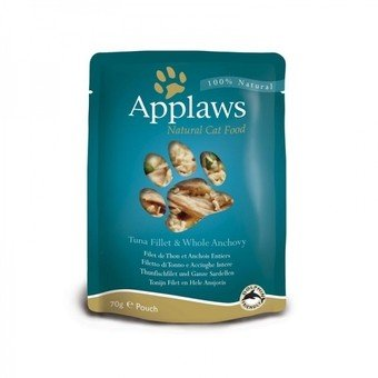 Applaws Cat.Thunfischfilet & Sardellen | 12 x 70 g