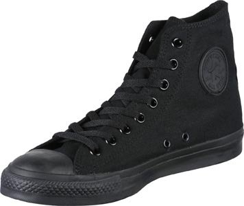Converse Chuck Taylor All Star, Sneakers Hautes Mixte Adulte Black