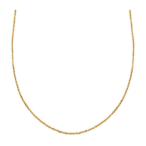 Mahi Exa Collection Gold Plated Cable Women's Chain CN6012005G