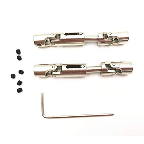 EisEyen T-Power Metall Hinten Mitte Antriebswelle Universal Getriebe Zubehör Kit für FY-01/02/03/04/05 Wltoys 12428 12423 RC Auto