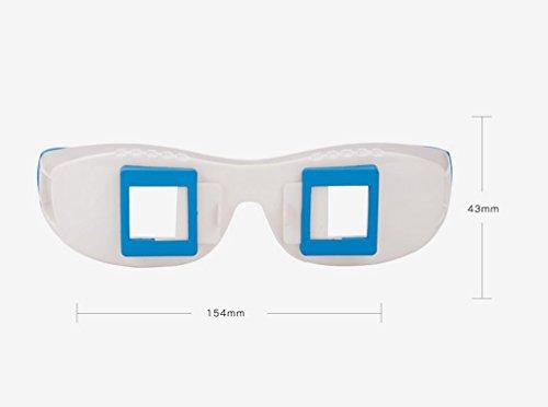 Gafas 3D De Dividir La Pantalla En Tres Dimensiones