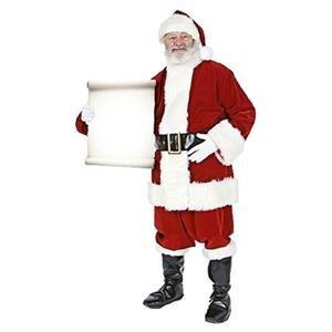 Sankt mit kleinen Meldungszeichen - 1.8m Weihnachtsdekoration (Kleine Miss Santa Kostüme)