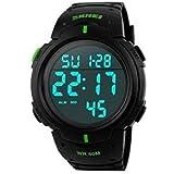ساعة رياضية من سكماي بسوار من البلاستيك للجنسين - موديل 1068 - رقم المصنع 2724468304859