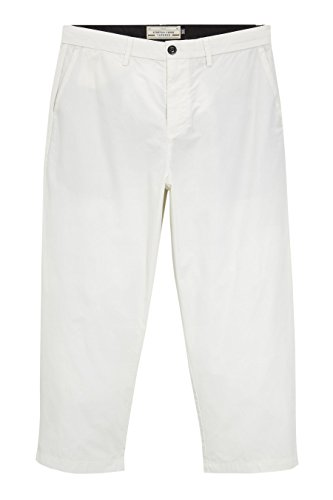 next Pantalon large Wide Fit Homme Ecru