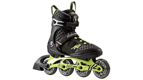 K2 Damen Inline Skate Alexis 84 Speed Inlineskate, Schwarz/Bronze, 7.5 (84mm Inlineskates)