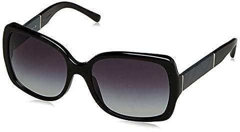 Burberry Damen Sonnenbrille BE4160 Schwarz (Onyx 30018G), One size (Herstellergröße: 58)