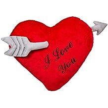 "'Out of the Blue 62/6067Peluche Corazón con Flecha I Love You """