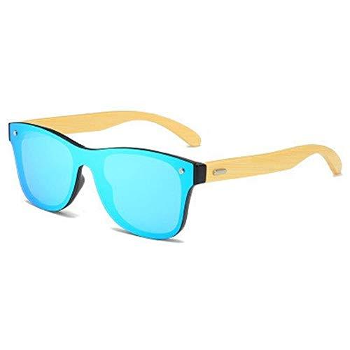 ANSKT Mode Bambus polarisierte Sonnenbrille männer Holz Sonnenbrille markendesigner für männer/Frauen