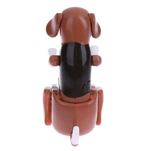 Camellia Tragbare Mini Nette PC USB-Gadgets Lustige Humping Spot-Hund Rascal Hundespielzeug Entlasten Druck Spielzeug für Büroangestellten (braun) (Rascal Hund Spielzeug)