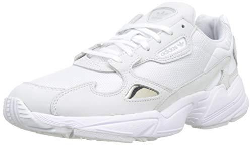 adidas Falcon W, Scarpe da Fitness Donna, Bianco Ftwbla/Balcri 000, 42 EU
