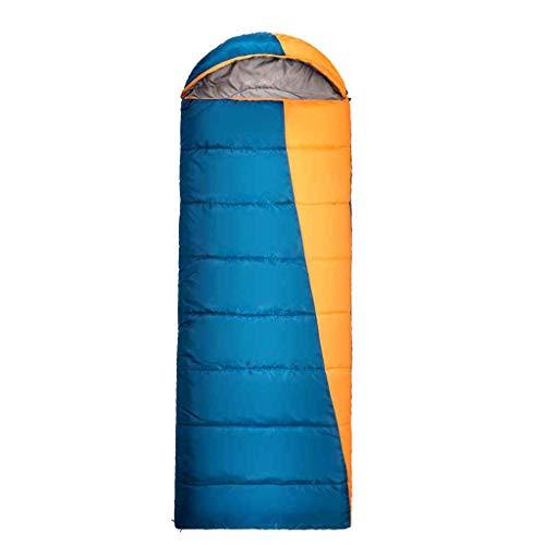 Schlafsäcke in freier Wildbahn. Camping Schlafsack - Campingausrüstung. Doppelt leichtes Tragen mit wasserdichtem Erwachsenen und Kindern, ideal für Reisen, Wandern und Outdoor-Aktivitäten.