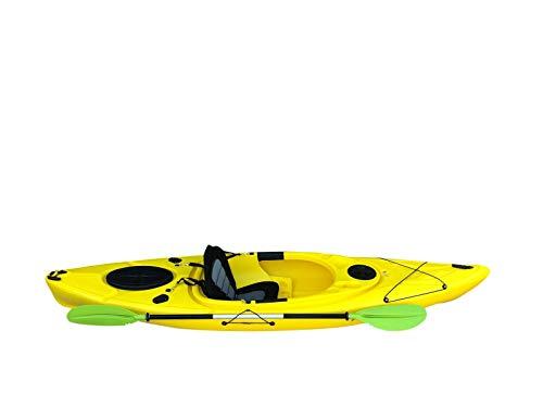 Cambridge Kayaks ES, Herring Amarillo Kayak DE Paseo Y Pesca, RIGIDO,