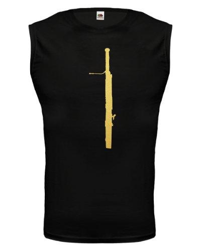 buXsbaum® Tank Top Fagott Black-Gold