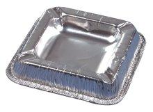 Einweg-Geschirr - Aluminium, Aschenbecher
