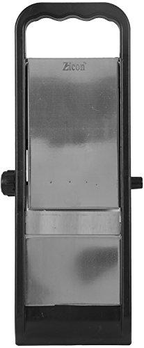 ZICON Stainless Steel & Plastic Slicers, 30 cm x 11 cm x 2 cm, Silver & Black