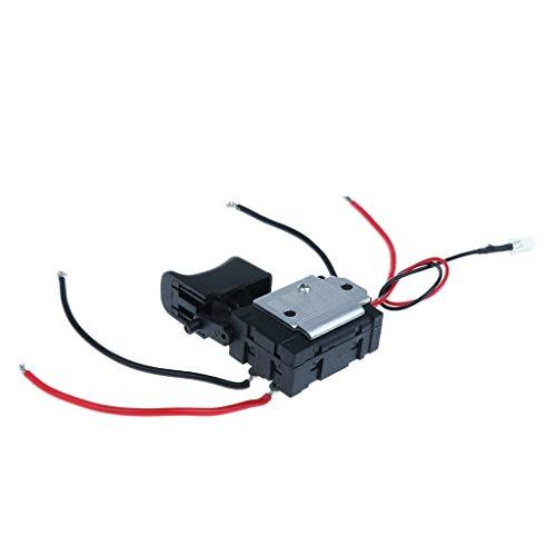 Handbohrer Schalter für wiederaufladbare Bohrmaschine Montage Reparatur von hoher Qualität Praktisch
