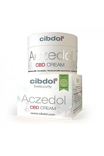 Cibdol Aczedol CBD Cream 50ml - Akne Creme