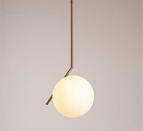 Minimalista Cnmklm E A Lampadari Di Moderno Vetro Lampadario Sfera WHIED29