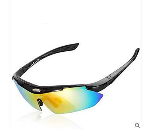 Fahrrad Brille kann mit Myopie Brille ausgestattet Werden, um Brille Set Brille, schwarz A zu wechseln