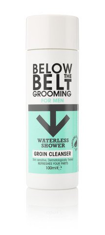 Below The Belt Grooming – Waterless Shower