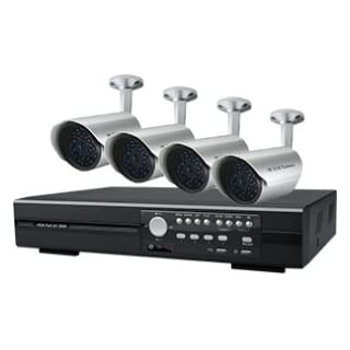 I9A2 - AVTECH 1x KPD-675 4 CHANNEL 250GB DVR SMARTPHONE COMPATIBLE & 4x KPC-139 520TVL DAY & NIGHT IP67 CAMERAS