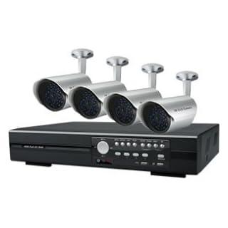 I9A2 - AVTECH 1 x KPD-675 4 Kanal 250 GB DVR SMARTPHONE kompatibel & 4 x KPC-139 520TVL DAY & NIGHT IP67 Kameras