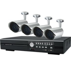 I9A2 - AVTECH 1 x KPD-675 4 Kanal 250 GB DVR SMARTPHONE kompatibel & 4 x KPC-139 520TVL DAY & NIGHT IP67 Kameras 250 Gb Dvr