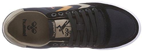 Hummel  HUMMEL SL STADIL CANVAS LO, Sneakers basses mixte adulte Noir (Black)