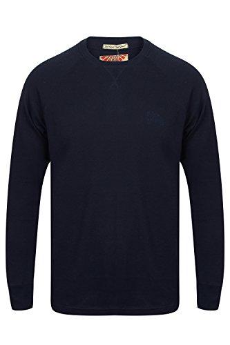 Tokyo Laundry Mens Pine Ridge Designer Long Sleeved T Shirt Jumper