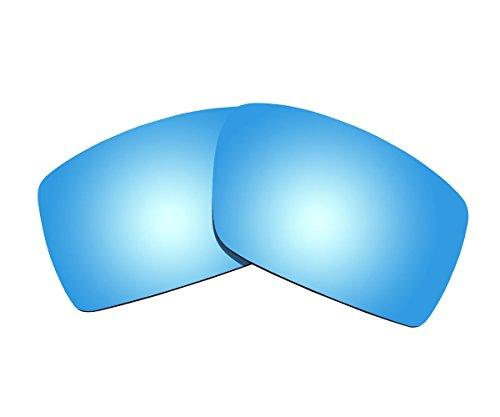 Sunnyblue2 Ice Blau Polarisierte Ersatz Gläser für Oakley Sonnenbrille Gascan