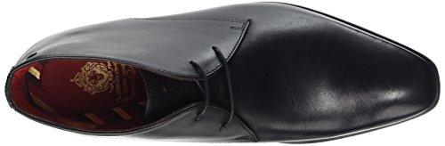 Base London Henry Herren Klassische Stiefel, knöchelhoch Noir (Waxy Black)