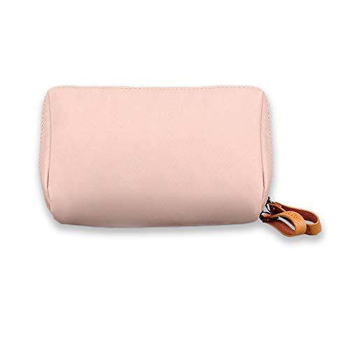 Sekmorpo, Professionelle Kulturbeutel, Kosmetik Organizer, Nylon Handtasche Damen 18.5×6×13cm Pink DN164
