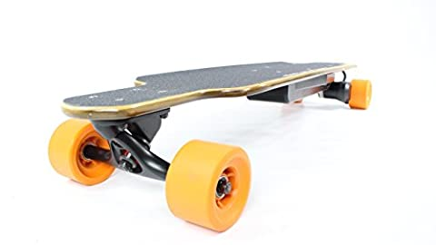 Max-Eboard Electric Longboard. Duckbill Deck 1200W Motor, 20mph top speed.