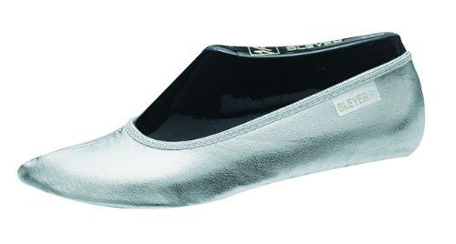 Preisvergleich Produktbild BLEYER Bauchtanzschuhe Gymnastikschuhe orientalischer Tanz-Schuhe, silber (38)