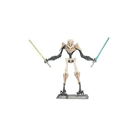 * STAR WARS THE CLONE WARS GENERAL GRIEVOUS 9.5CM FIGURINE WITH BATTLE DAMAGED PARTS*