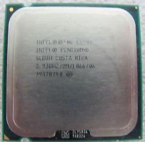 Intel Pentium E6500 Dual Core CPU tray SLGUH 2.93