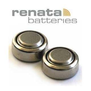 Batterien Knopfzelle verkehrsfreien PfeiIer 10 Renata Silber 1.55 & 371 Einheiten Spannung (SR920SW)