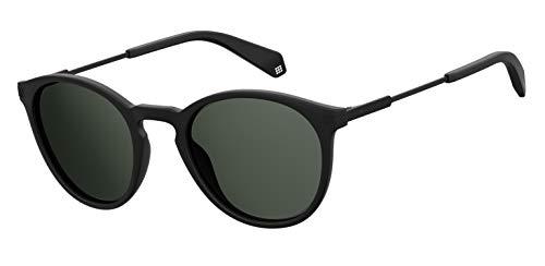 Polaroid pld 2062/s occhiali da sole, mtt black, 50 uomo