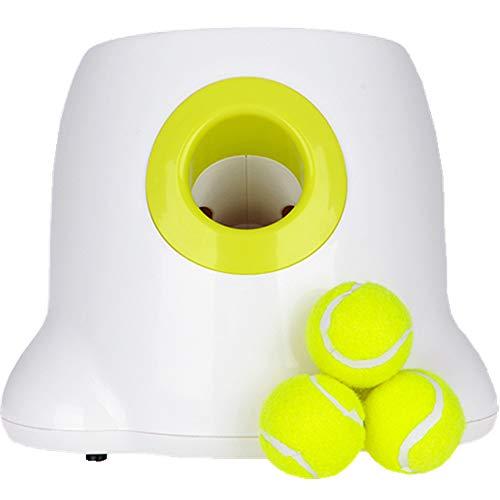 YANG OG Pet Wurfmaschine automatische Pitching Maschine Haustier interaktive Spielzeug Haustier liefert Tennis (mit Kleinen Ball) Haustier Selbsthilfe Unterhaltung -