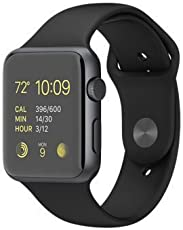 COKU Bluetooth Smart Watch with Camera and Sim Card Support, Apps,Touch Screen,Time Schedule,Health, Pedometer for iPhone 7 Plus