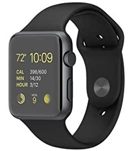 VELL- TECH Bluetooth Smart Watch Compatible with All 3G, 4G Phone with Camera and Sim Card Support (Matte Black)