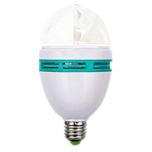 Cadiyo Bunte RGB LED-Scheinwerfer-automatische drehende Lampe für Partybar Speziallampen