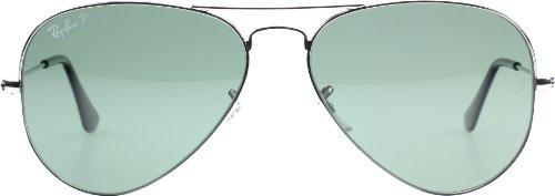 Ray Ban Sonnenbrille Aviator, 58 mm, Gestell: Silber, Gläser: Spiegel