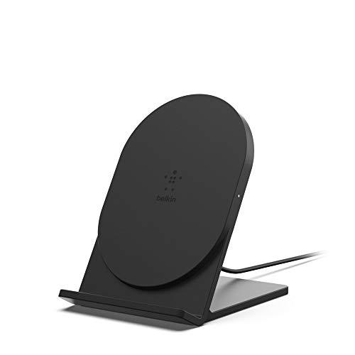 Belkin drahtloses Boost Up Bold 5 W (geeignet für iPhone XS, XS Max, XR, 8/8+, Samsung Galaxy S10, S10+, S10e, Huawei P30, P30 Pro, Google und andere Geräte (Netzteil nicht im Lieferumfang enthalten)) (Netzteil Belkin)