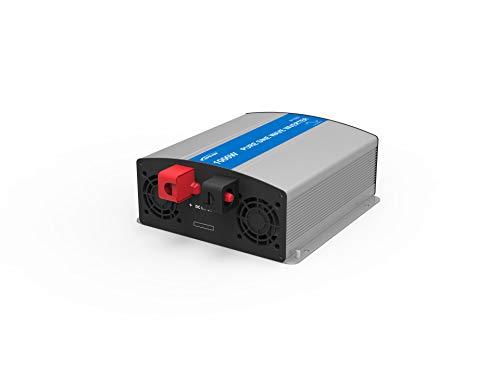 EPEVER® REINER SINUS Spannungswandler IP Serie Inverter Wechselrichter 12V DC auf 230V AC Stromwandler (IP1000-12, 1000W 12V/230V) Ac-stromwandler